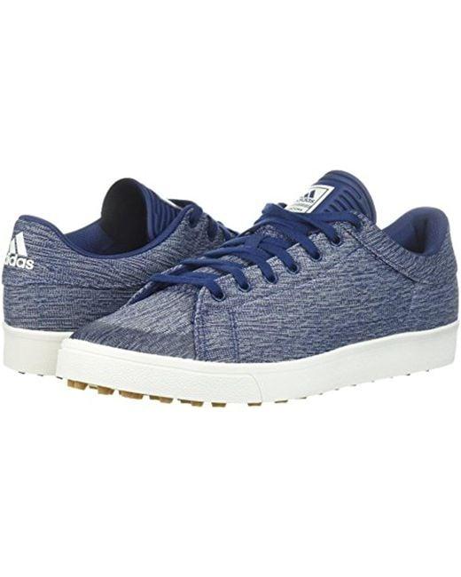 lyst adidas adicross classico scarpa da golf in blu per gli uomini.