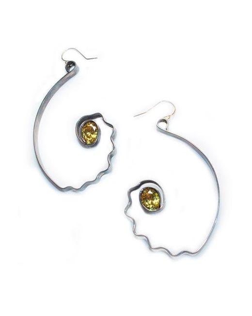 Sibilla G Jewelry | Gray Sibilla G Citrine Impulse Earrings | Lyst