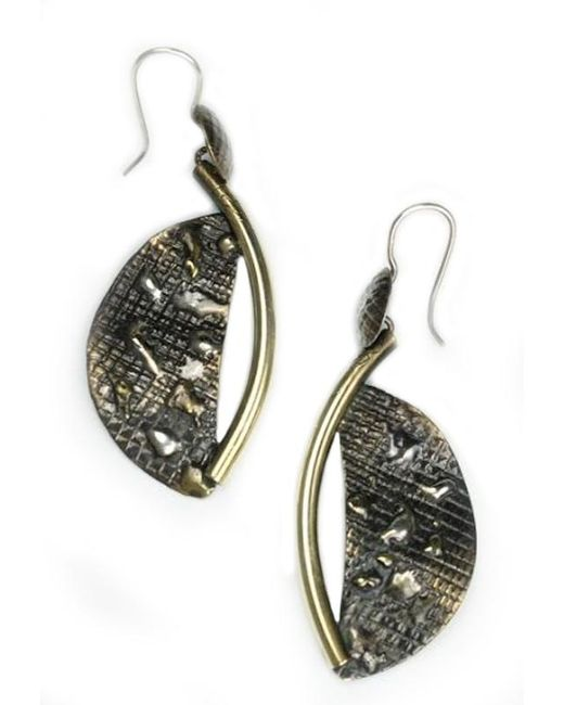 Sibilla G Jewelry   Metallic Sibilla G Atlantis Crescent Moon Fashion Earrings   Lyst