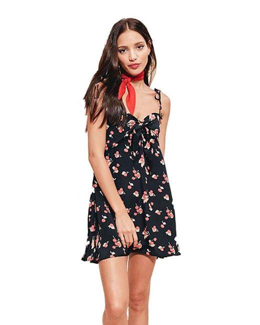 For Love & Lemons | Black Cherry Tank Dress | Lyst