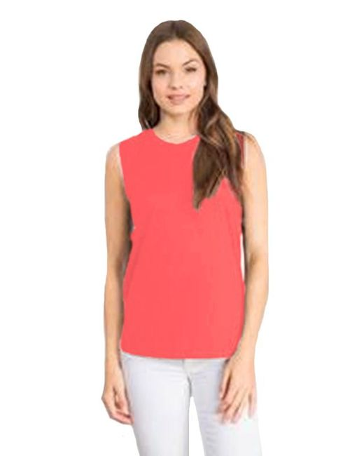 Feel The Piece - Pink By Terre Jacobs Bentley Tank In Watermelon - Lyst