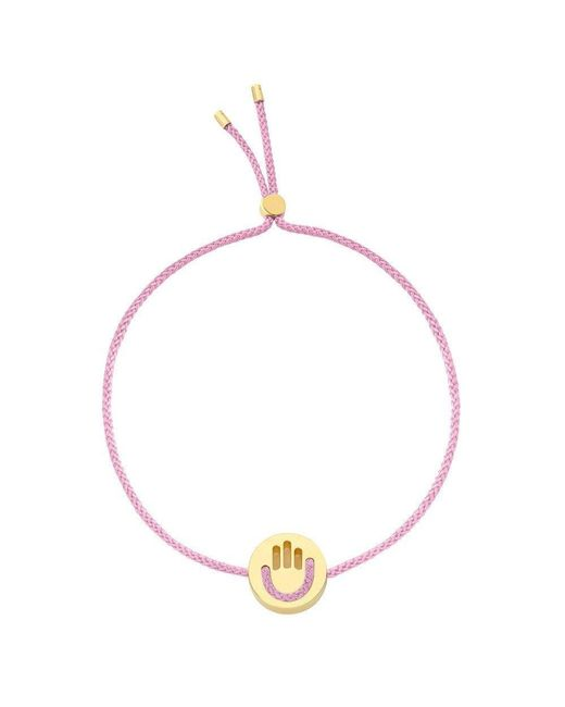Ruifier | Pink High Five Hands Up Bracelet | Lyst