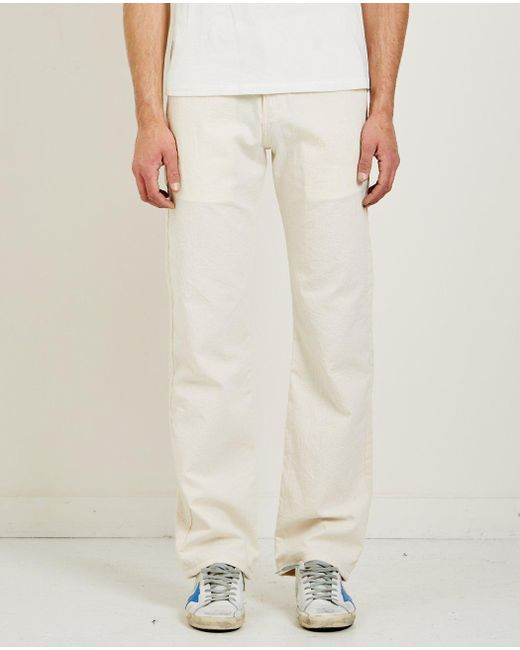 loose fit straight chinos - White Naked & Famous Denim zEhR9gW6UU