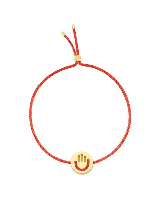 Ruifier | Red High Five Hands Up Bracelet | Lyst