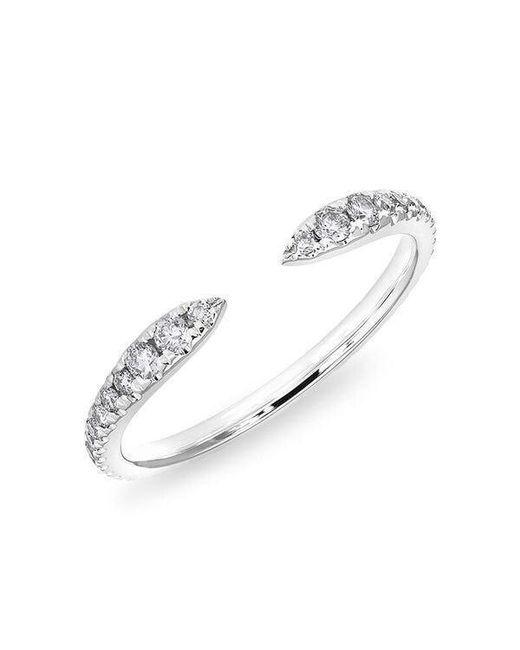 Anne Sisteron - Multicolor 14kt White Gold Diamond Pierce Ring - Lyst