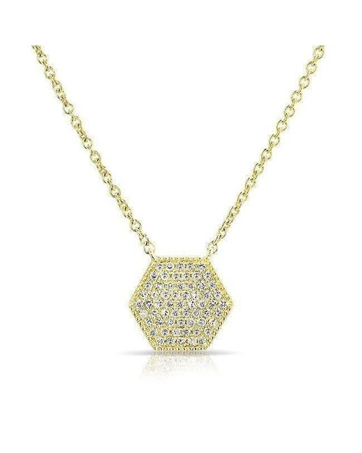 Anne Sisteron - Metallic 14kt Yellow Gold Diamond Honey Necklace - Lyst