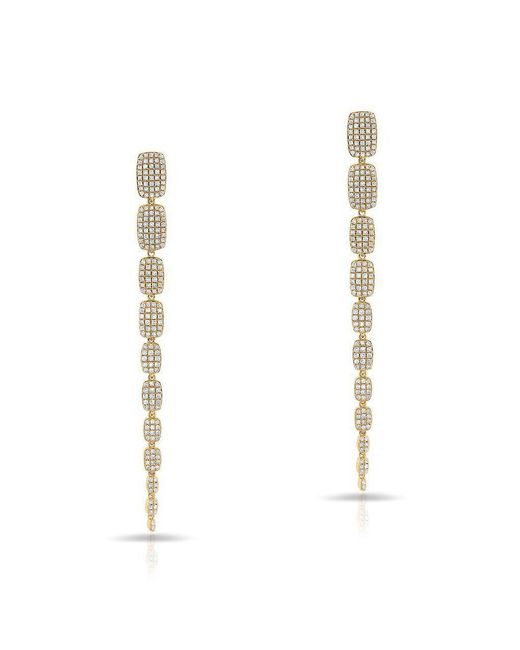 Anne Sisteron - Metallic 14kt Yellow Gold Diamond Orsa Earrings - Lyst