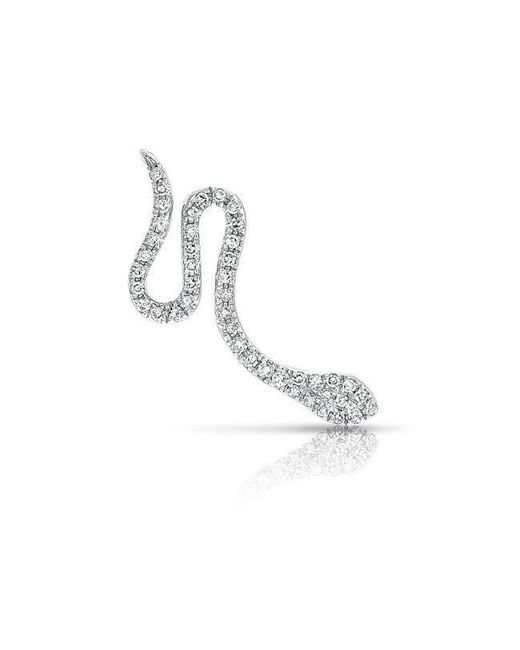 Anne Sisteron | Multicolor 14kt White Gold Diamond Snake Ear Climber | Lyst