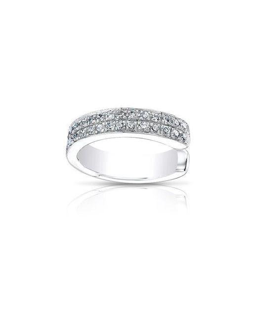 Anne Sisteron | Metallic 14kt White Gold Diamond Chloe Ear Cuff | Lyst