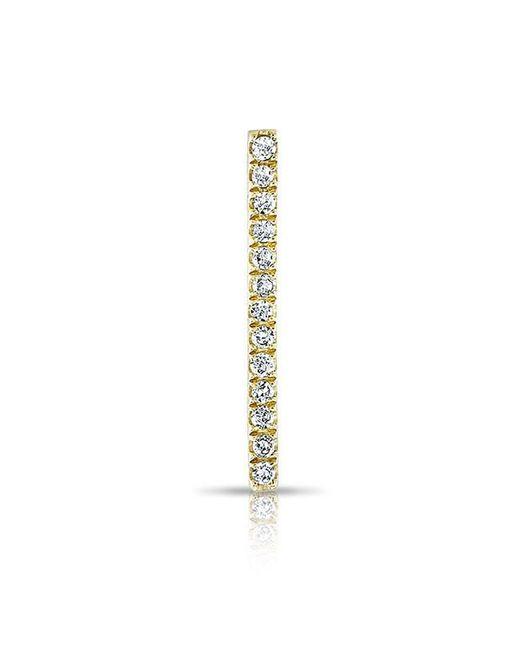 Anne Sisteron | Metallic 14kt Yellow Gold Diamond Bar Ear Climber | Lyst