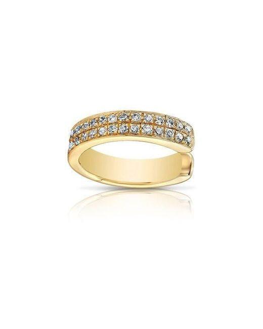 Anne Sisteron | Metallic 14kt Yellow Gold Diamond Chloe Ear Cuff | Lyst