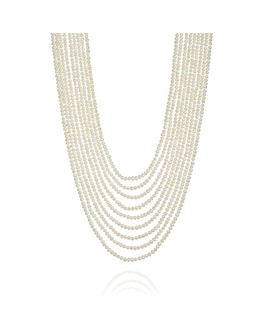 Annoushka | Cascading White Pearl Necklace | Lyst
