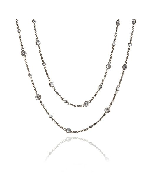 Annoushka | Metallic Nectar Night Jasmine Necklace | Lyst