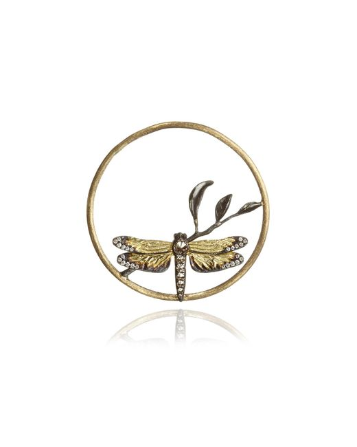 Annoushka | Metallic Hoopla Dragonfly Diamond Pendant | Lyst