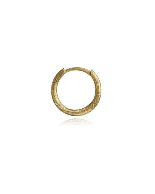 Annoushka - Metallic Small Hoop Earring - Lyst