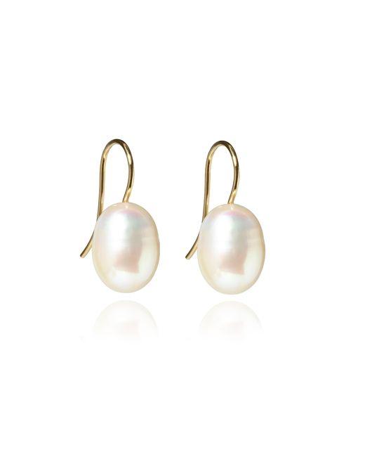 Annoushka - Metallic Classic Baroque Pearl Drop Earrings - Lyst