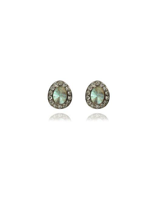 Annoushka   Multicolor Dusty Diamonds Labradorite Stud Earrings   Lyst