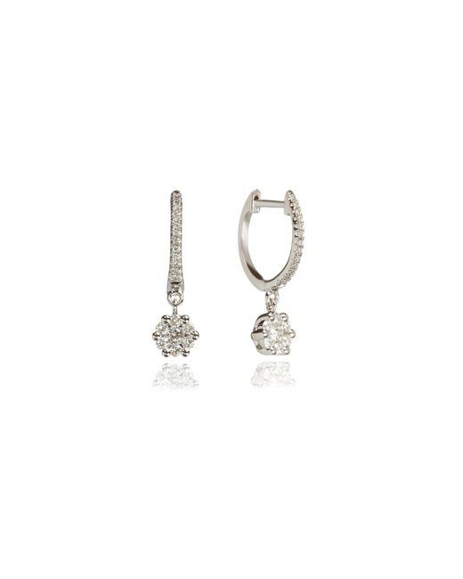 Annoushka   Metallic Daisy Hoop Earrings   Lyst