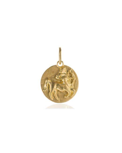 Annoushka - Metallic Mythology 18ct Gold Sagittarius Pendant - Lyst