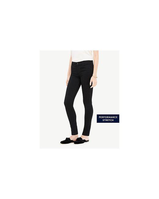 Ann Taylor - Modern All Day Skinny Jeans In Jet Black - Lyst