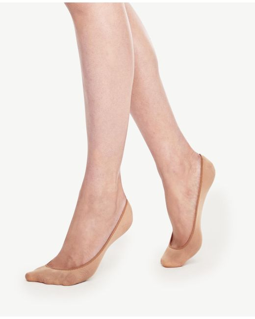 Ann Taylor | Natural No-show Socks | Lyst