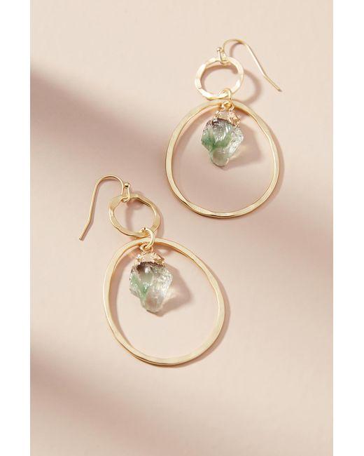 Anthropologie - Metallic Morgana Link Drop Earrings - Lyst