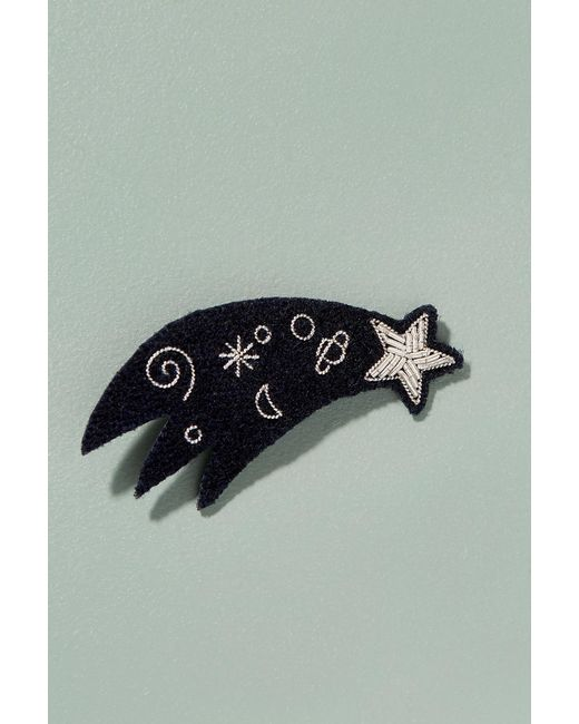 Macon & Lesquoy | Blue Shooting Star Pin Badge | Lyst