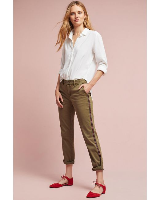 Anthropologie | Multicolor Robin Striped Chinos | Lyst
