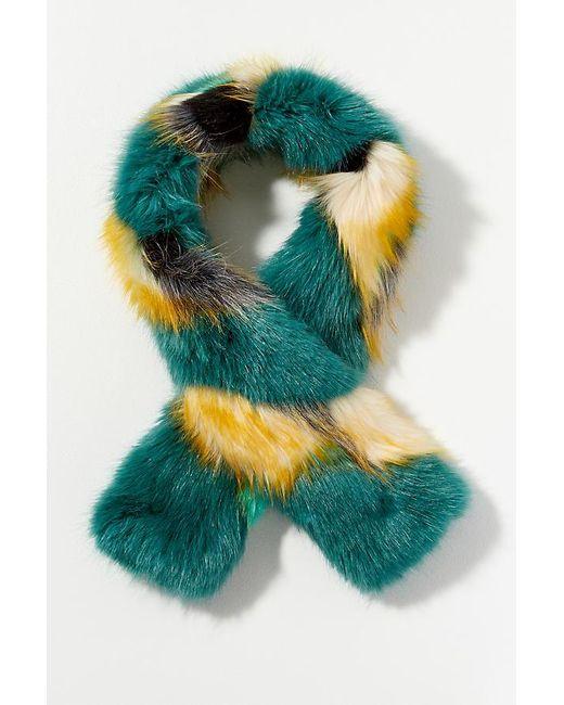 Helen Moore - Multicolor Two-tone Faux-fur Stole - Lyst