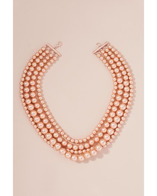 Anthropologie - Multicolor Anette Multi-layer Bead Necklace - Lyst