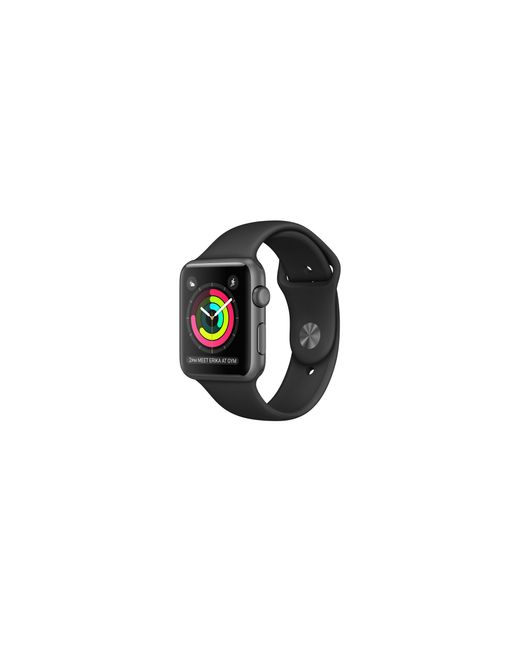 Apple | Watch Series 2, 42mm Space Gray Aluminum Case With Black Sport Band for Men | Lyst