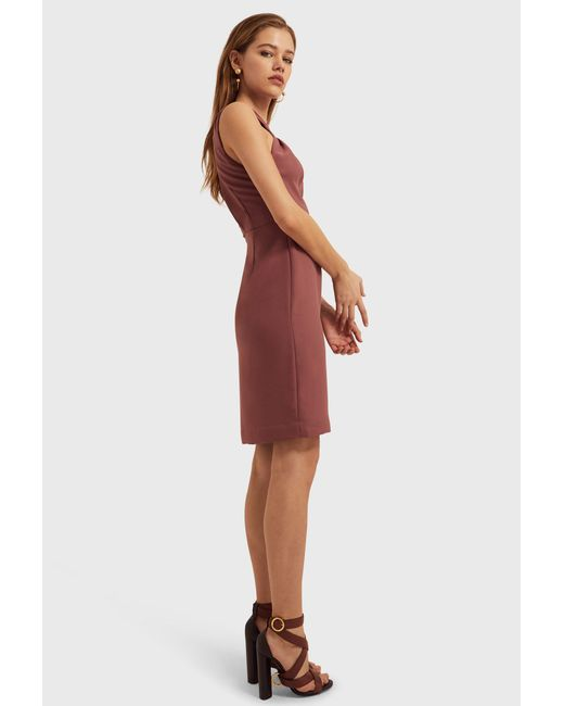 AQ/AQ - Multicolor Stella Cut Out Mini Dress Ash Rose - Lyst