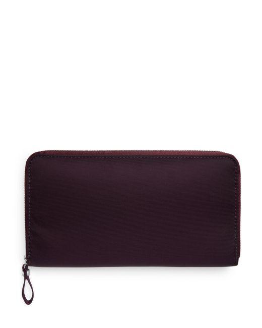 ARKET - Purple Nylon Wallet - Lyst