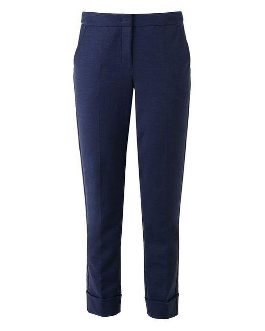 Armani | Blue Straight Leg Pant | Lyst