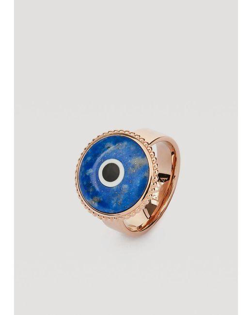Emporio Armani - Blue Ring - Lyst