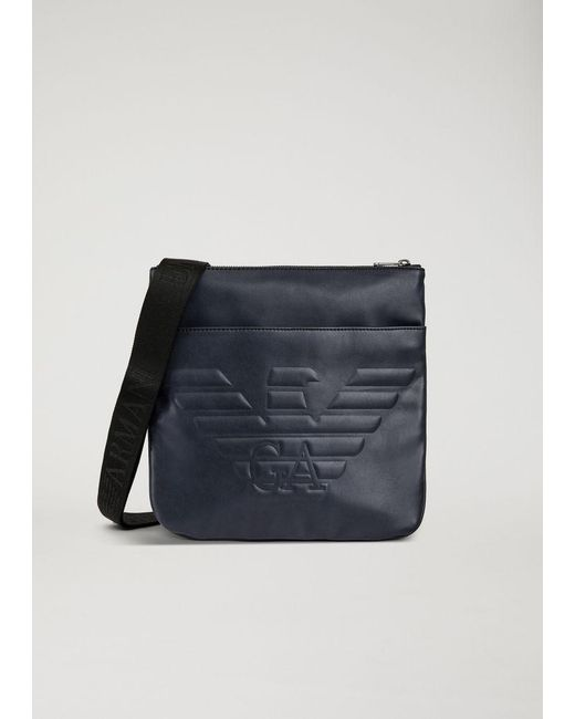 Lyst - Emporio Armani Crossbody Bag in Blue for Men - Save 13% 333a4ecd6fb60