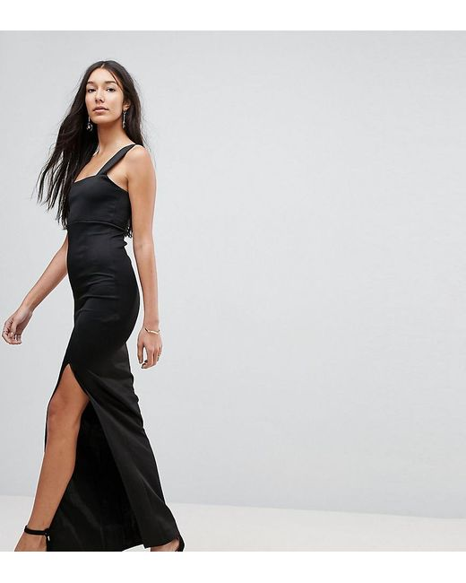 Clearance Fake Cheap Sale In China ASOS ASOS DESIGN Tall minimal maxi with skinny halter Choice Sale Online Countdown Package Online VjjVBQRunq