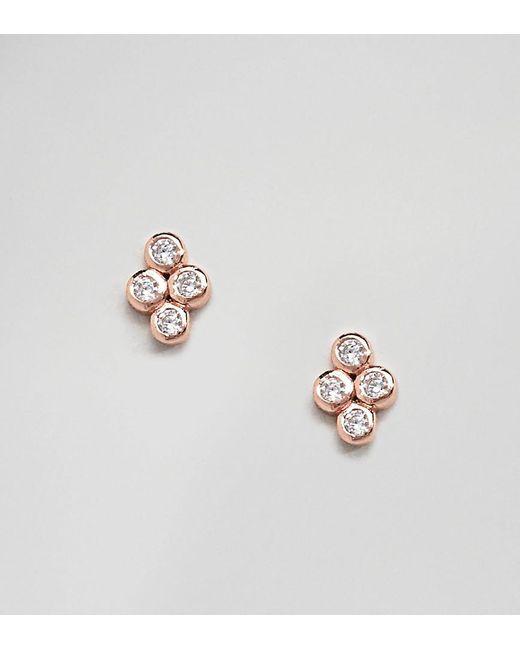 Shashi - Metallic 18k Gold Plated Noa Stud Earrings - Lyst