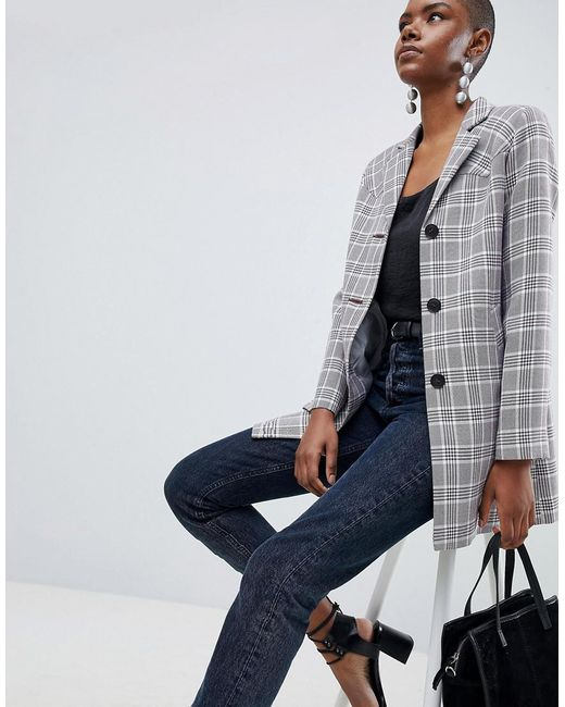 DESIGN Check Formal Coat - Multi Asos Discount Pay With Paypal Best Cheap Price Latest n2rHlBNaxn