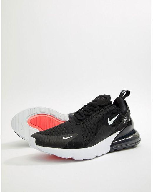huge discount dff0d 4fcbe Nike - Air Max 270 Trainers In Black Ah8050-002 for Men - Lyst ...