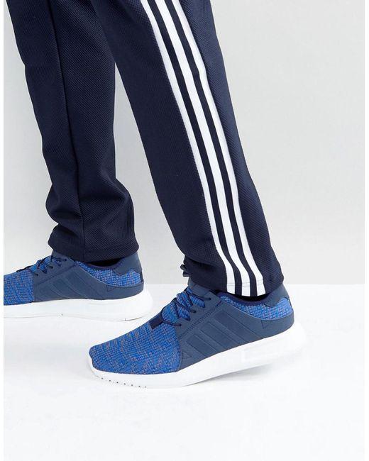 Adidas Originals x PLR formadores en azul en azul para los hombres Lyst
