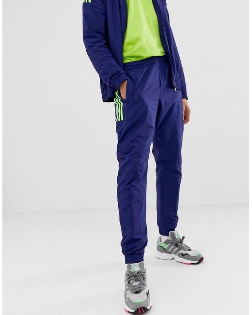 46a911a39 ... Adidas Originals - Blue Joggers de chndal Flame Strike de for Men - Lyst