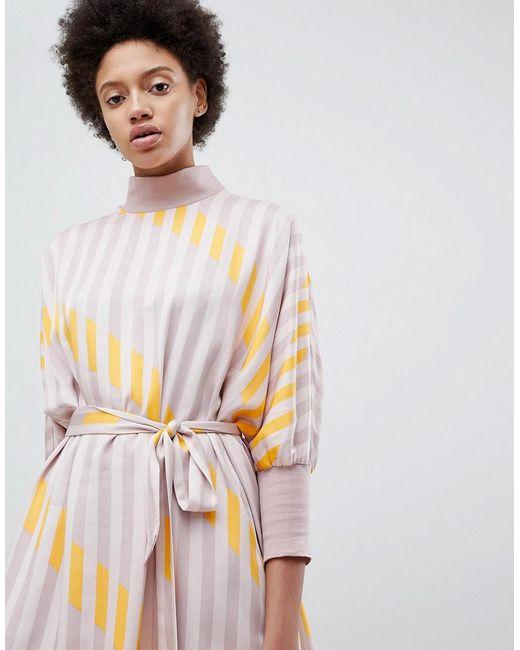 Stripe Printed Shift Dress - Multi Selected gLLDUZn3j