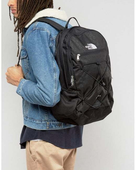 The North Face Rodey Backpack In Black In Black For Men Lyst