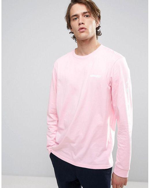 Long Sleeve Pink Shirt Mens - Greek T Shirts