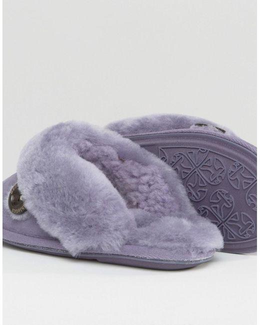 Bedroom Athletics Molly Slipper In Purple