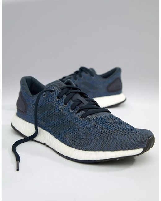 a674309ec66a0 Adidas - Blue Running Pureboost Dpr In Navy Bb6293 for Men - Lyst ...