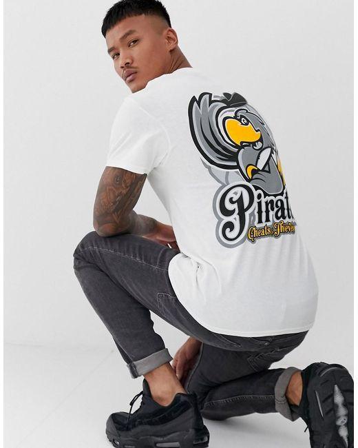 Cheats & Thieves White Pirates Back Print T-shirt for men