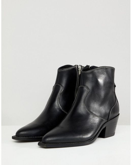 AllSaints Stitch Detail Western Boot wiki for sale 5VV3RnIA58