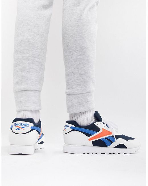 03162cf8718d Reebok Rapide Trainers In White Cn5907 in White for Men - Lyst